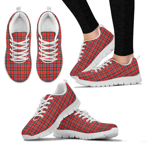 Sinclair Modern, Women's Sneakers, Tartan Sneakers, Clan Badge Tartan Sneakers, Shoes, Footwears, Scotland Shoes, Scottish Shoes, Clans Shoes