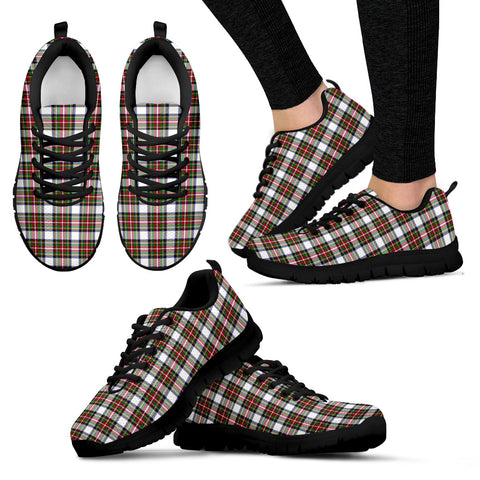 Stewart Dress Modern, Women's Sneakers, Tartan Sneakers, Clan Badge Tartan Sneakers, Shoes, Footwears, Scotland Shoes, Scottish Shoes, Clans Shoes