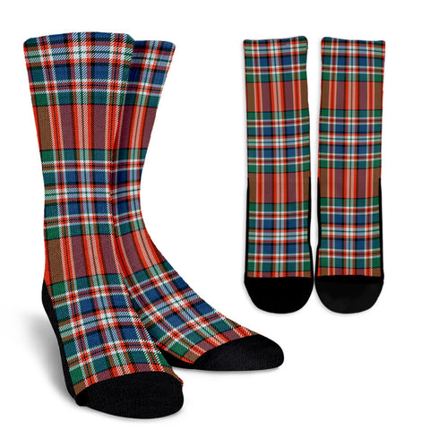 MacFarlane Ancient clans, Tartan Crew Socks, Tartan Socks, Scotland socks, scottish socks, christmas socks, xmas socks, gift socks, clan socks