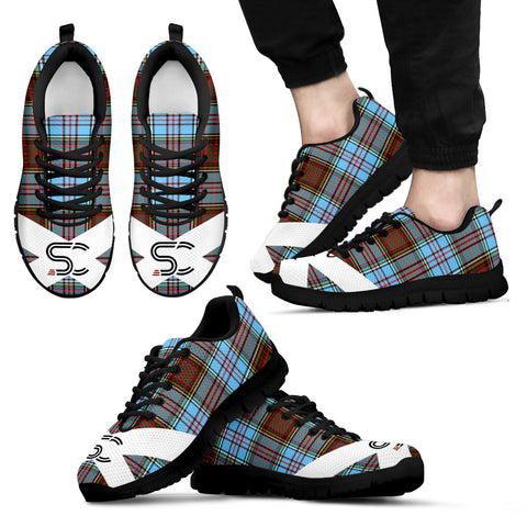 Image of Anderson Ancient Tartan Sneakers