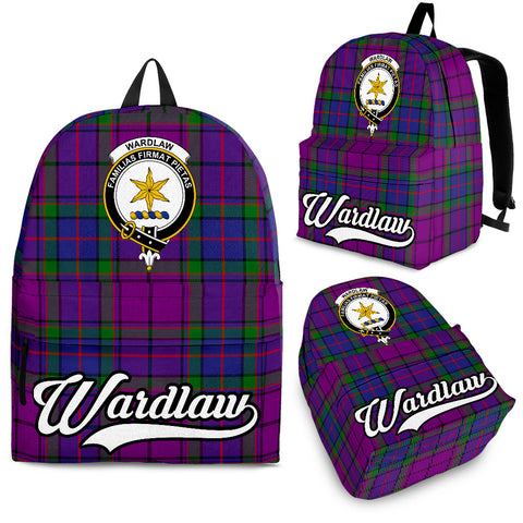 Wardlaw Tartan Clan Backpack | Scottish Bag | Adults Backpacks & Bags
