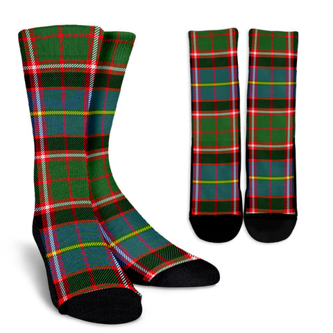Stirling & Bannockburn District clans, Tartan Crew Socks, Tartan Socks, Scotland socks, scottish socks, christmas socks, xmas socks, gift socks, clan socks