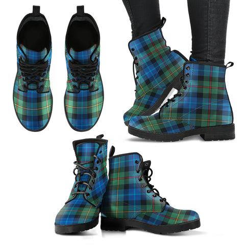 Smith Ancient Tartan Leather Boots A9