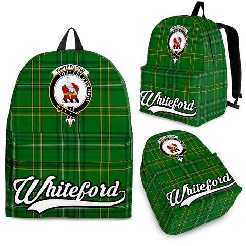 Whiteford Tartan Clan Backpack | Scottish Bag | Adults Backpacks & Bags