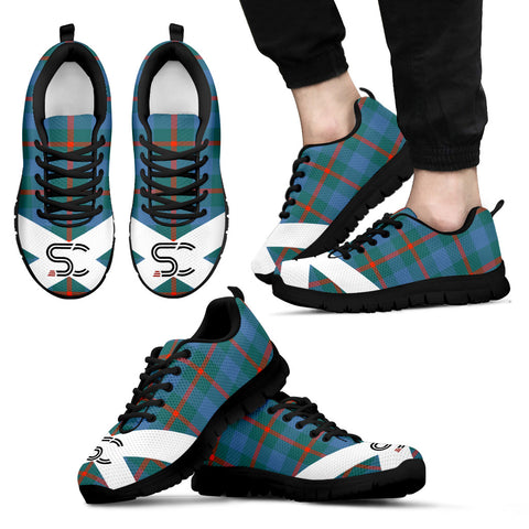 Image of Agnew Ancient Tartan Sneakers