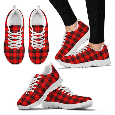 Wemyss Modern, Women's Sneakers, Tartan Sneakers, Clan Badge Tartan Sneakers, Shoes, Footwears, Scotland Shoes, Scottish Shoes, Clans Shoes