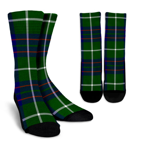 MacIntyre Hunting Modern clans, Tartan Crew Socks, Tartan Socks, Scotland socks, scottish socks, christmas socks, xmas socks, gift socks, clan socks