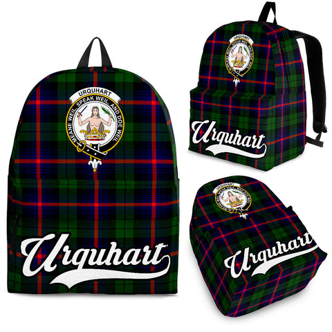 Urquhart Tartan Clan Backpack | Scottish Bag | Adults Backpacks & Bags
