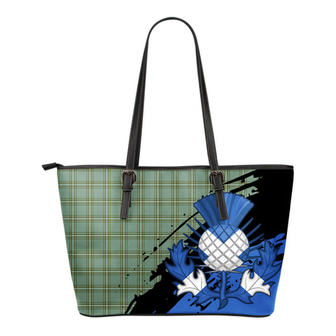 Kelly Dress Leather Tote Bag Small | Tartan Bags