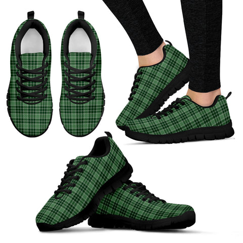 MacDonald Lord of the Isles Hunting, Women's Sneakers, Tartan Sneakers, Clan Badge Tartan Sneakers, Shoes, Footwears, Scotland Shoes, Scottish Shoes, Clans Shoes