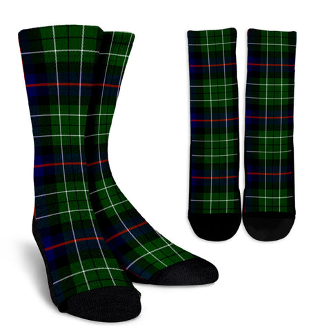 Leslie Hunting clans, Tartan Crew Socks, Tartan Socks, Scotland socks, scottish socks, christmas socks, xmas socks, gift socks, clan socks