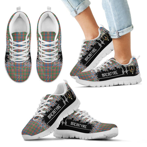 Image of MacIntyre Ancient Tartan Heartbeat Sneakers TH8