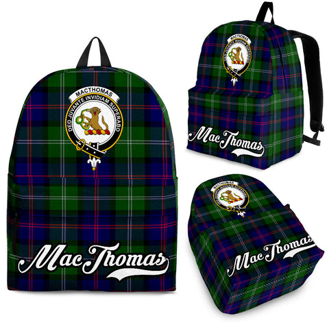 MacThomas Tartan Clan Backpack | Scottish Bag | Adults Backpacks & Bags