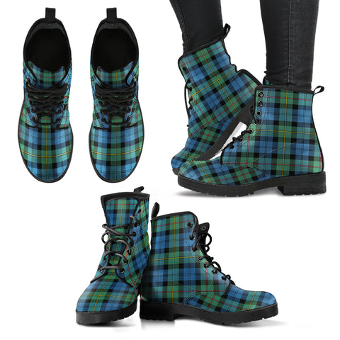 Image of MacEwen Ancient Tartan Leather Boots
