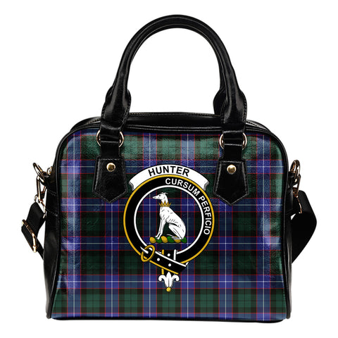 Hunter Modern Tartan Clan Shoulder Handbag | Special Custom Design