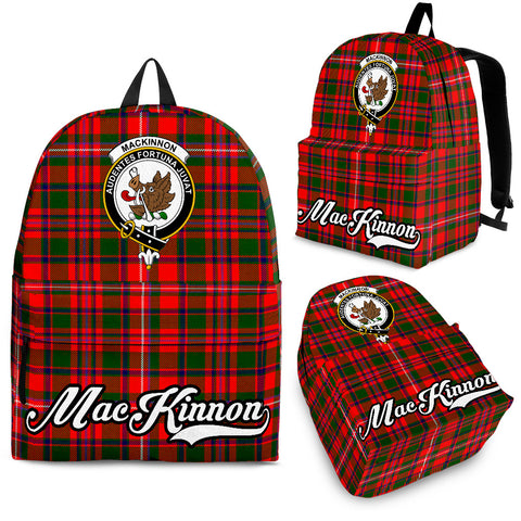 MacKinnon Tartan Clan Backpack | Scottish Bag | Adults Backpacks & Bags