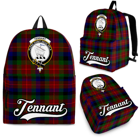 Image of Tennant Tartan Clan Backpack | Scottish Bag | Adults Backpacks & Bags