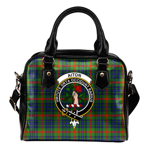 Aiton Tartan Clan Shoulder Handbag | Special Custom Design