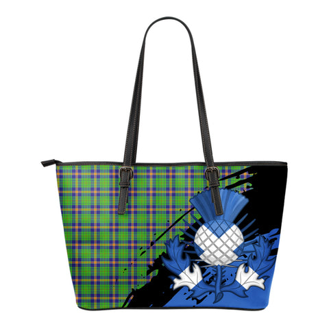 New Mexico Leather Tote Bag Small | Tartan Bags