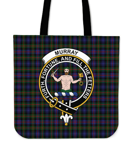 Tartan Tote Bag - Murray of Atholl Modern Clan Badge | Special Custom Design