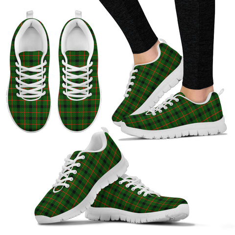 Kincaid Modern, Women's Sneakers, Tartan Sneakers, Clan Badge Tartan Sneakers, Shoes, Footwears, Scotland Shoes, Scottish Shoes, Clans Shoes