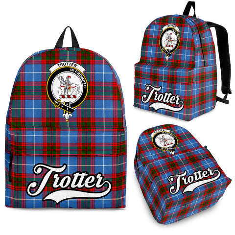 Trotter Tartan Clan Backpack | Scottish Bag | Adults Backpacks & Bags