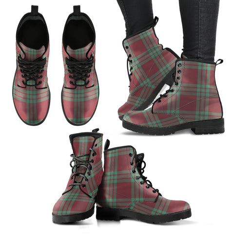 MacGregor Hunting Ancient Tartan Leather Boots A9
