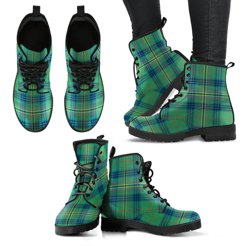Kennedy Ancient Tartan Leather Boots A9