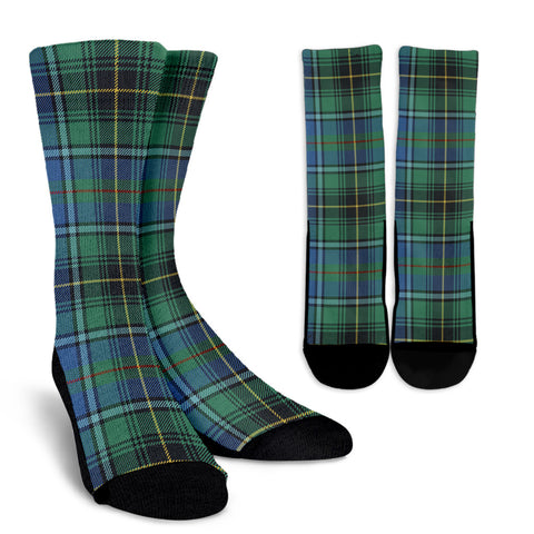 MacInnes Ancient clans, Tartan Crew Socks, Tartan Socks, Scotland socks, scottish socks, christmas socks, xmas socks, gift socks, clan socks