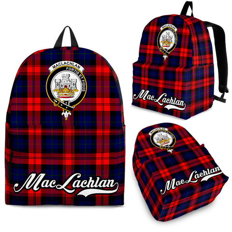 MacLachlan Tartan Clan Backpack | Scottish Bag | Adults Backpacks & Bags