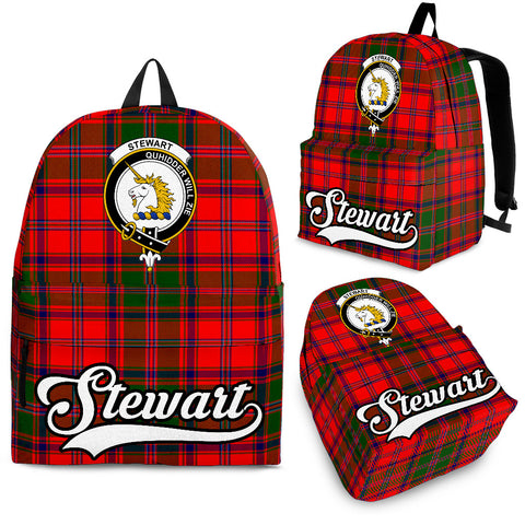 Stewart (of Appin) Tartan Clan Backpack | Scottish Bag | Adults Backpacks & Bags