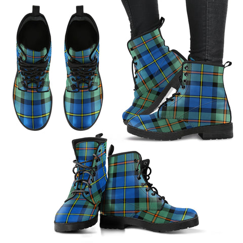 MacLeod of Harris Ancient Tartan Leather Boots A9