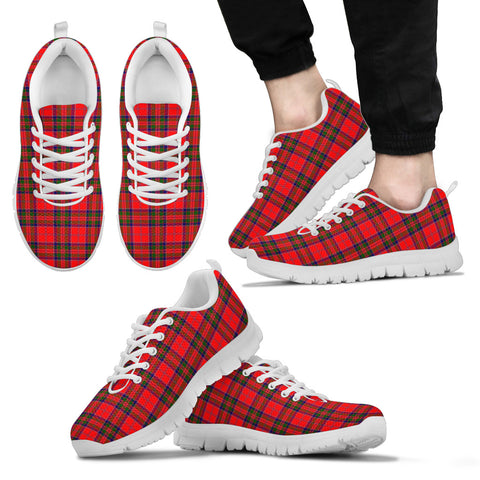 Image of MacGillivray Modern, Men's Sneakers, Tartan Sneakers, Clan Badge Tartan Sneakers, Shoes, Footwears, Scotland Shoes, Scottish Shoes, Clans Shoes
