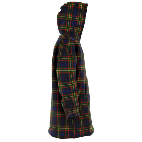 Image of Clelland Modern Snug Hoodie - Unisex Tartan Plaid Right