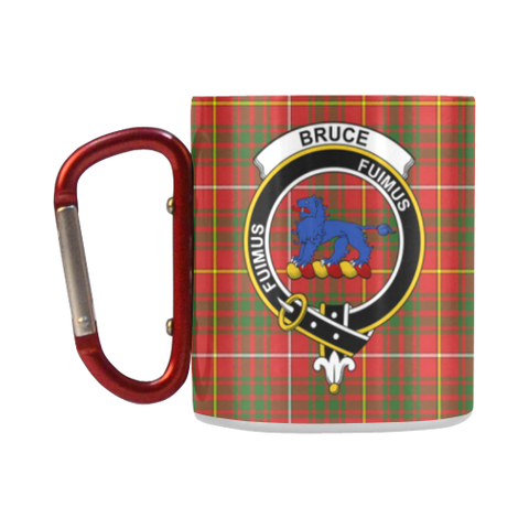 Bruce Modern  Tartan Mug Classic Insulated - Clan Badge K7