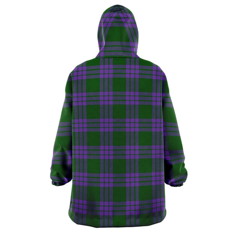 Image of Elphinstone Snug Hoodie - Unisex Tartan Plaid Back