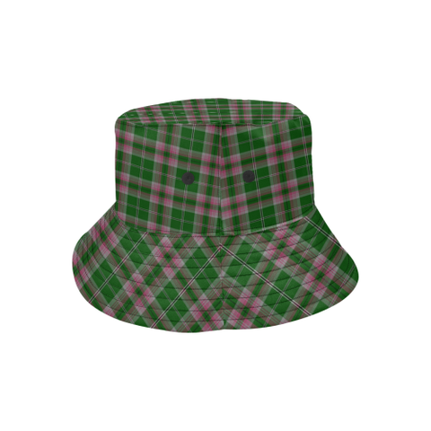 Gray Hunting Tartan Bucket Hat for Women and Men K7