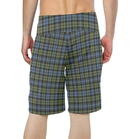 Campbell Faded Tartan Board Shorts TH8