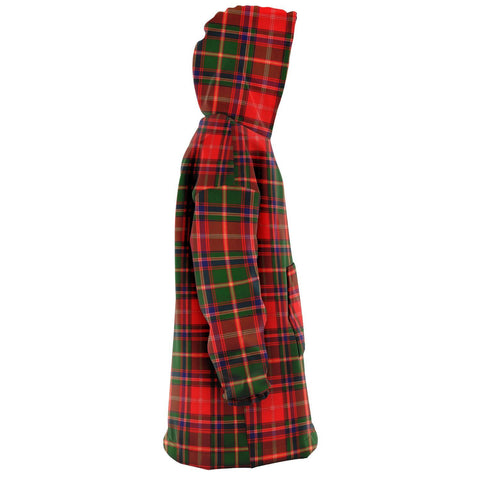 Somerville Modern Snug Hoodie - Unisex Tartan Plaid Right
