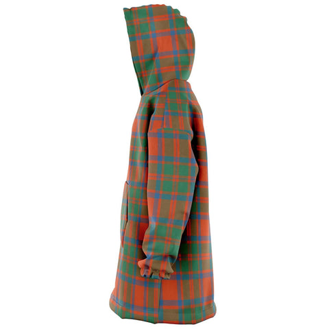 MacKintosh Ancient Snug Hoodie - Unisex Tartan Plaid Left