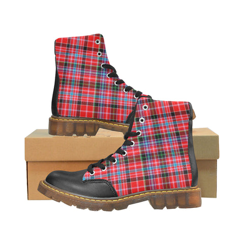 Image of Aberdeen District Tartan Apache Boots | Tartan Footwear | Over 500 Tartans & 300 Clans