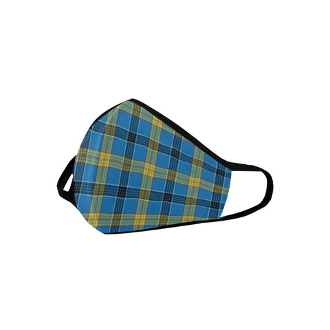 Laing Tartan Mouth Mask With Filter | scottishclans.co