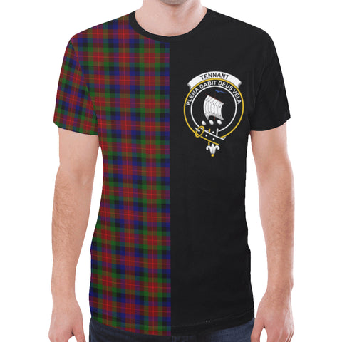 Tennant T-shirt Half In Me | scottishclans.co