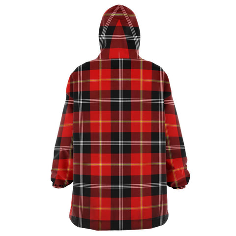 Image of Marjoribanks Snug Hoodie - Unisex Tartan Plaid Back
