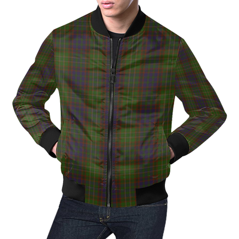 Cunningham Hunting Modern Tartan Bomber Jacket | Scottish Jacket | Scotland Clothing