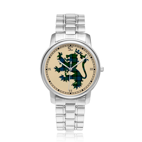 Image of MacKay Modern Tartan Watch Lion Scottish Vesion K7