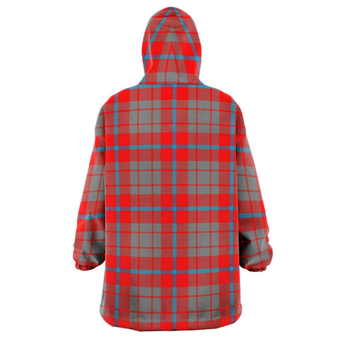 Image of Moubray Snug Hoodie - Unisex Tartan Plaid Back