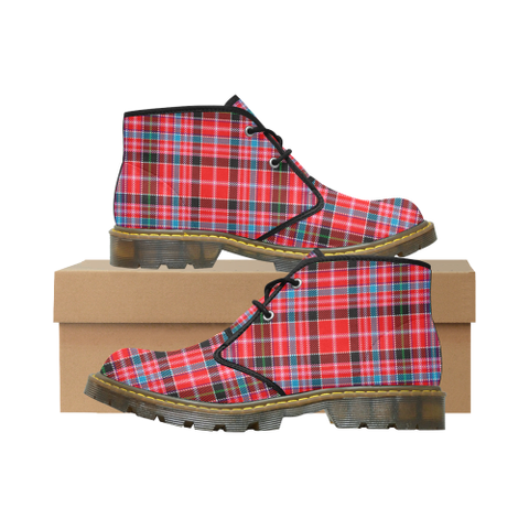 Aberdeen District Tartan Chukka Boot | Over 500 Tartans | Special Custom Design | Love Scotland