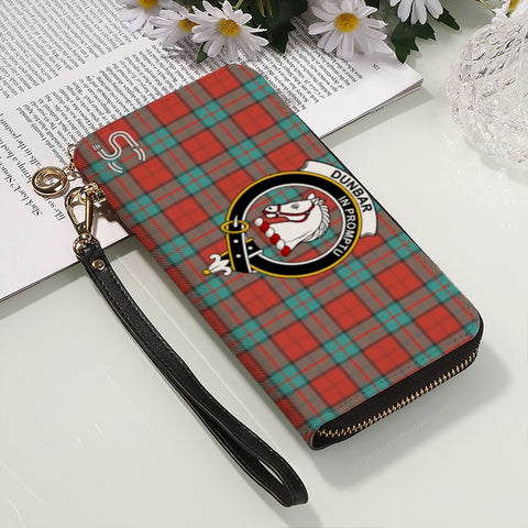 Dunbar Ancient Crest Tartan Zipper Wallet™