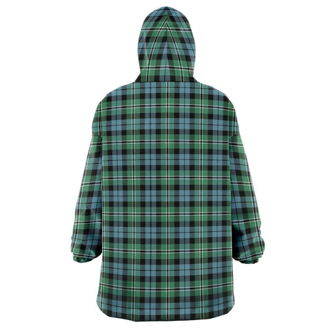 Image of Melville Snug Hoodie - Unisex Tartan Plaid Back